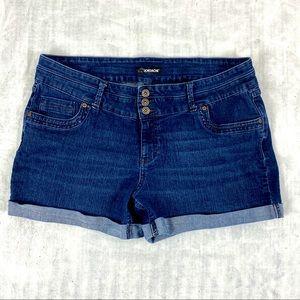 Jordache Jean Shorts Fold Up Hem